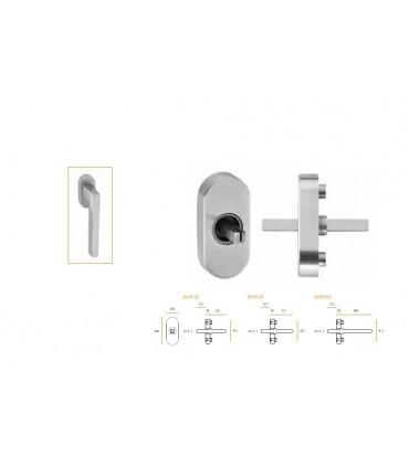 Mécanisme arrondi pour fenêtre montage avec poignées série JSR