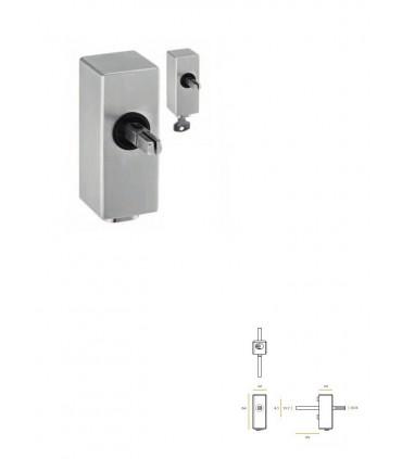 Mécanisme pour fenêtre avec clé montage avec poignées série JSR