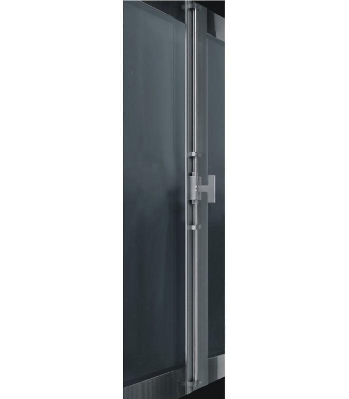 cr mone de porte ou fen tre en inox avec tringle carr e de 10 x 10 mm. Black Bedroom Furniture Sets. Home Design Ideas