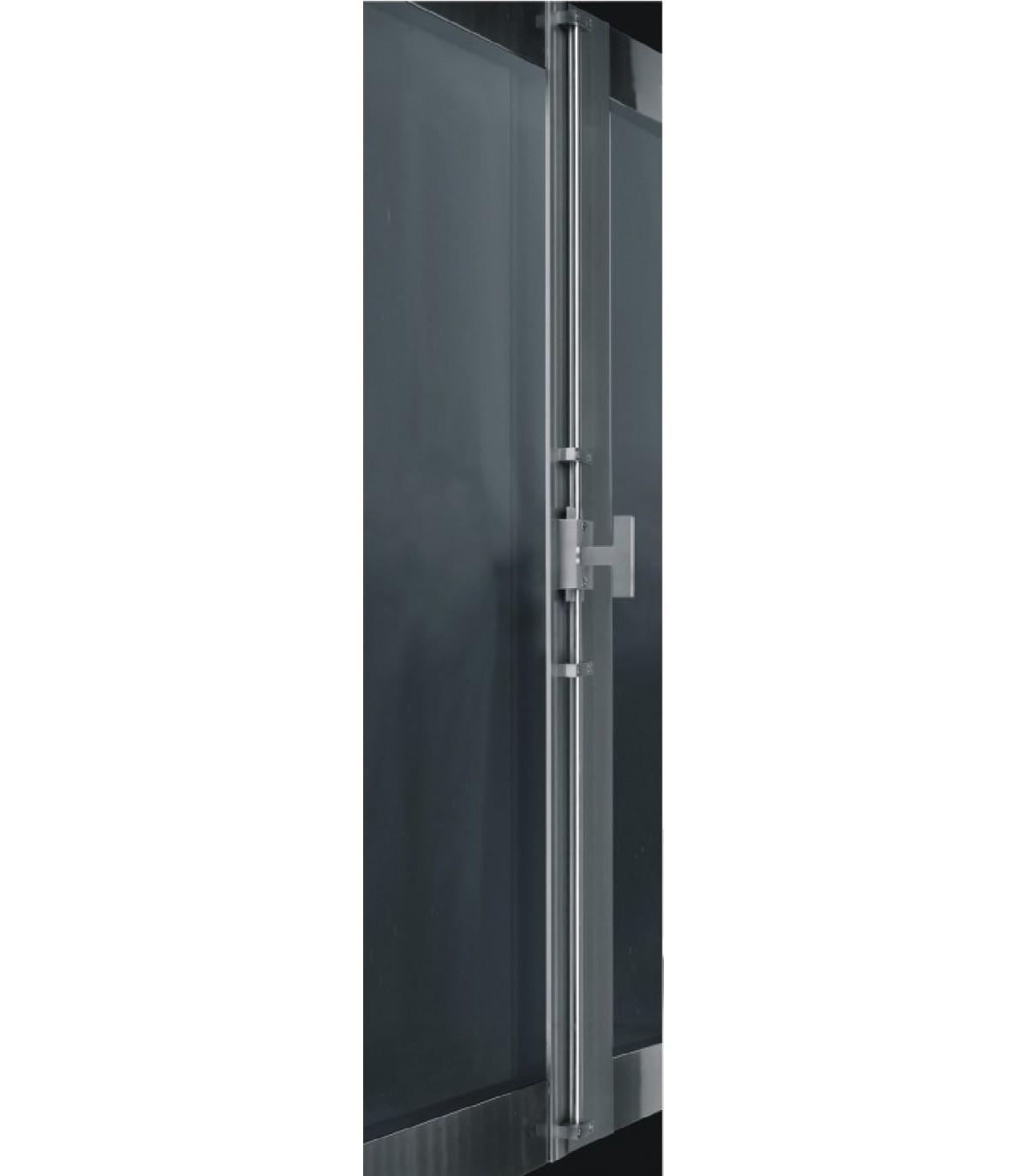 Tringle De Porte Entree crémone de porte ou fenêtre avec tringle carrée - crémone de