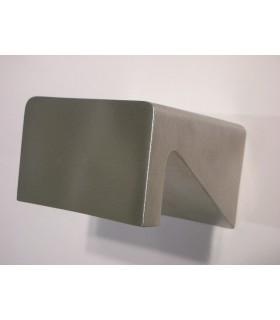 Bouton carré 70 x 70 mm à encoche