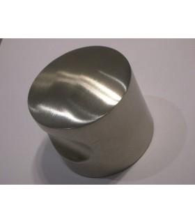 Bouton rond Ø 60 mm à encoche