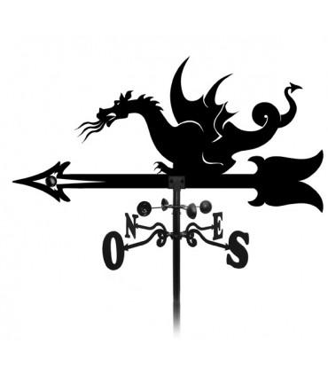 Girouette dragon