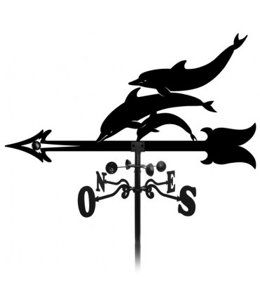 Girouette dauphin