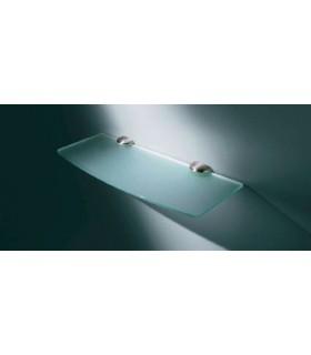 Petit support 1/2 rond MS01424 Confalonieri pour étagère en verre