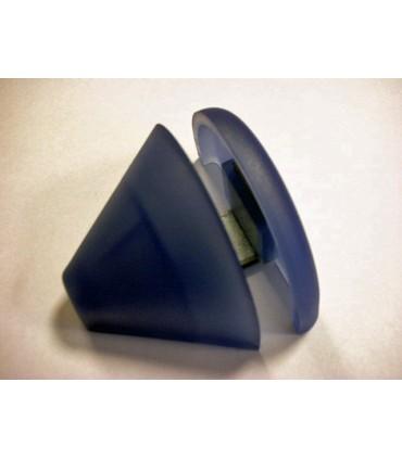 Support d'étagère en polypropylène bleu