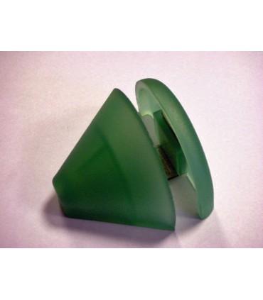 Support d'étagère en polypropylène vert