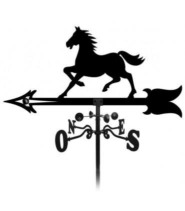 Girouette cheval