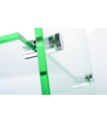 Support simple pour étagère en verre