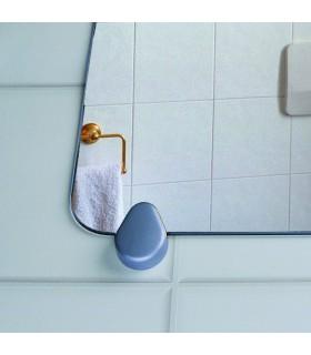 Fixation pour miroir d'épaisseur 3 à 6 mm