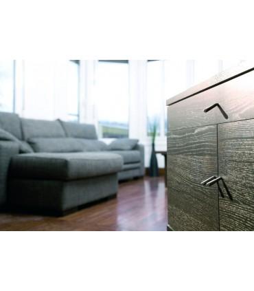 Poignée bouton de meuble incliné série Switch