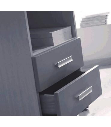 Poignée de meuble concave en aluminium AL3