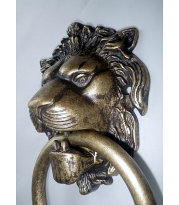 Heurtoir de porte d'entrée tête de Lion bouche ouverte