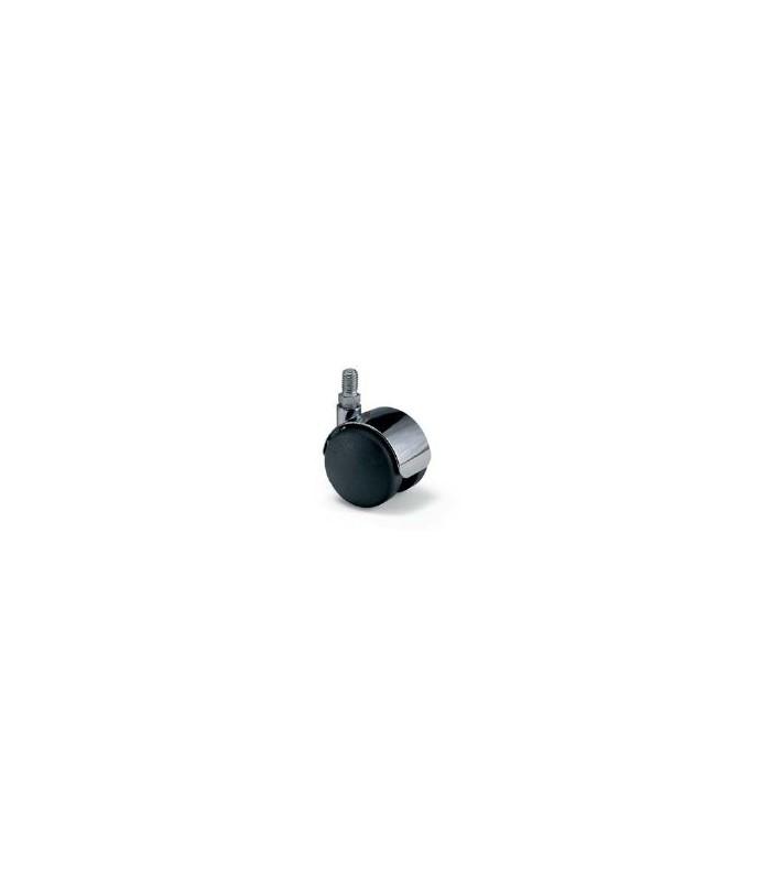 Roulette nylon noir Ø 50 mm