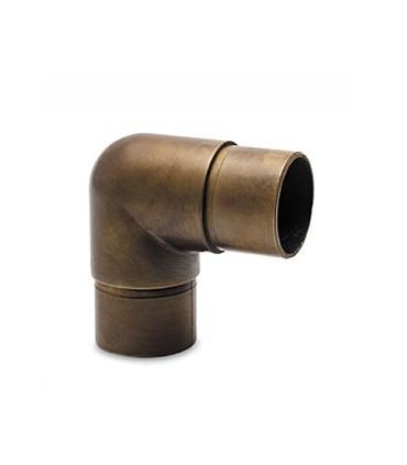 Raccord 90° bronze