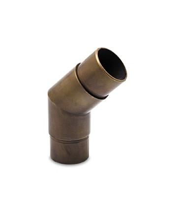 Raccord 45° bronze