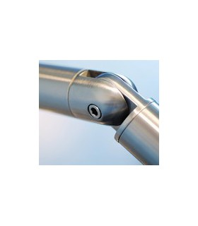 Raccord orientable pour tube Ø 38,1 mm