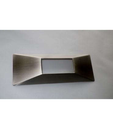 Poignée série Inlay nickel satiné