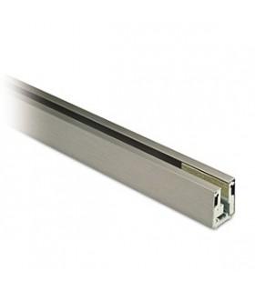 Petit profil aluminium pour fixation de verre fixe