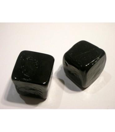 Poignée bouton glace noir