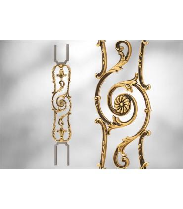 Balustres avec élément décoratif largeur 180 mm