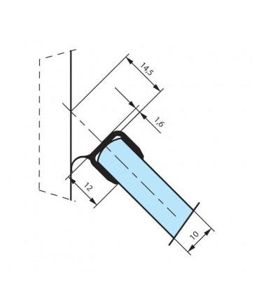 Joint d'étanchéité pour verre coupé en 2