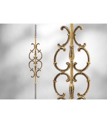 Balustres avec élément décoratif largeur 205 mm
