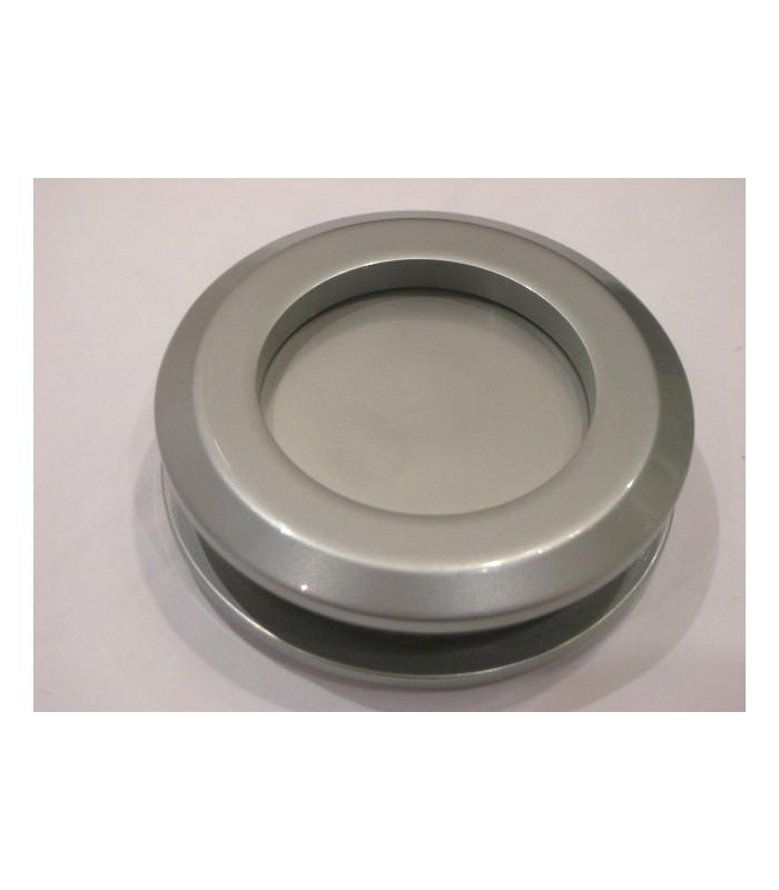 Poign e anneau borgne en inox bross - Poignee adhesive pour porte en verre ...