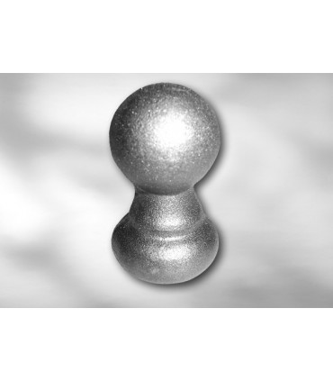 Pointe de lance ronde LA32 pour barre 30 mm