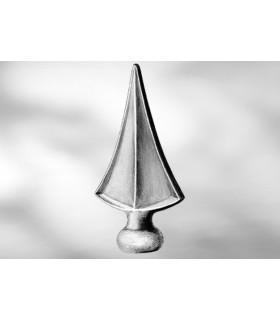 Pointe de lance LA231 pour barre ronde 25 mm