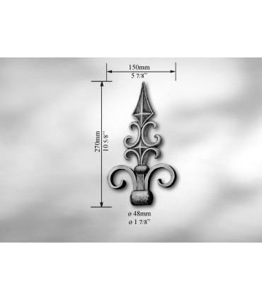 Pointe de lance pour Ø 48 mm