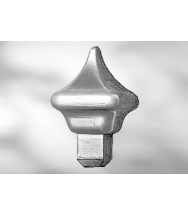 Pointe de lance LA45 pour barre carrée de 14 mm