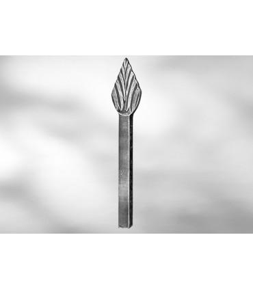 Pointe de lance LA22 pour barre carrée de 14 mm