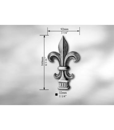 Pointe de lance pour carré de 32 mm