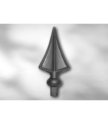 Pointe de lance LA237 pour barre carrée de 14 mm