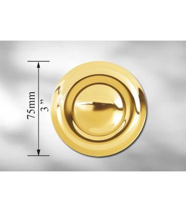 Rosace en laiton Ø 75 mm