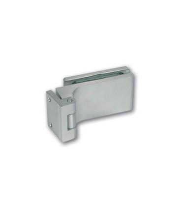 Paumelle avec fiche de 40 mm pour porte clarit en verre
