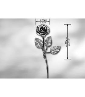"""Elément décoratif """"rose"""""""