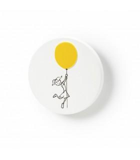 Poignée bouton série Ballon pour les filles par Viefe