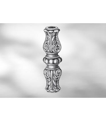 Manchon décoratif en fonte grise hauteur 115 mm