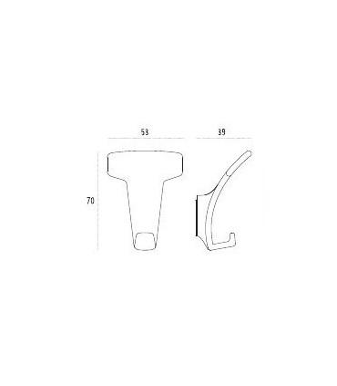 Patère design LID0157