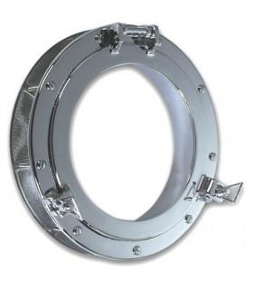 Oculus hublot en inox pour porte ou cloison int rieure - Hublot cloison placo ...
