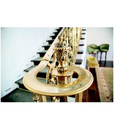 Elément décoratif pour départ de rampe d'escalier
