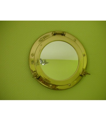 Hublot miroir Laiton diamètre 300 mm