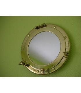 Hublot miroir Laiton diamètre 250 mm
