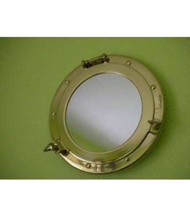 Hublot miroir Laiton diamètre 200 mm