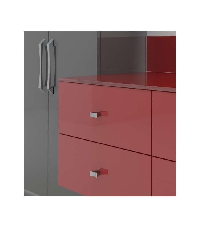 Bouton de meuble design Caleido
