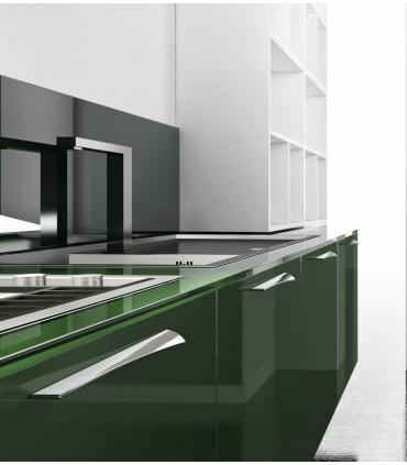 Poignée de meuble design Onda gauche