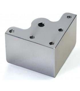 Pied de meuble hauteur 60 mm avec vérin oscillant série 210 par Mafos