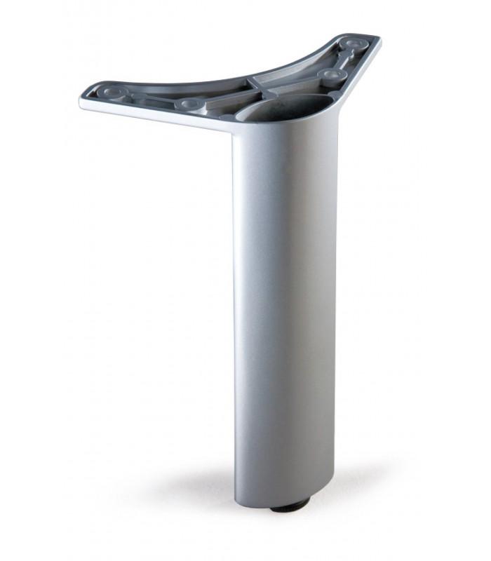 Pied de meuble elliptique avec vérin